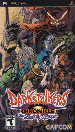 Darkstalkers Chronicle - The Chaos Tower Coverart.png