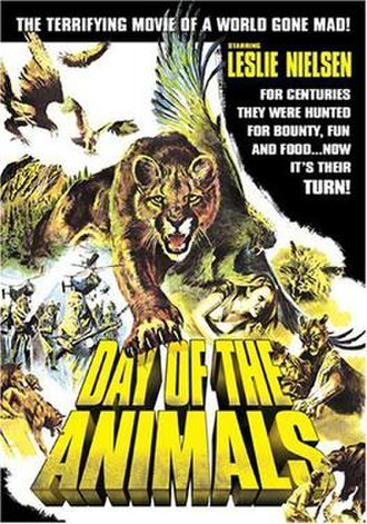 Day of the Animals - DVD cover