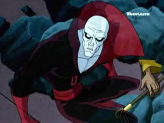 Deadman (DC Comics) - Deadman as he appeared in the Justice League Unlimited series