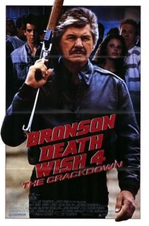 <i>Death Wish 4: The Crackdown</i> 1987 film by J. Lee Thompson