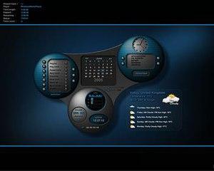 DesktopX - Image: Desktop X Theme