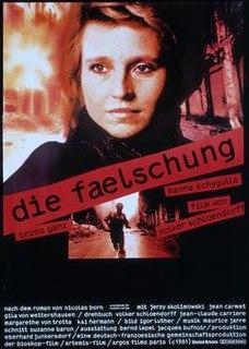 <i>Die Fälschung</i> 1981 film by Volker Schlöndorff