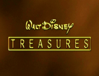 Walt Disney Treasures - Walt Disney Treasures promotional title card