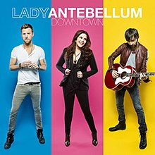 Lady Antebellum — Downtown (studio acapella)