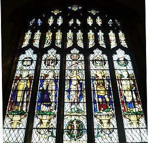 Christopher Webb - The East Window of St. Alban's Church, Southampton.