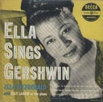 Ella Sings Gershwin - Image: Ella sings gershwin 1950