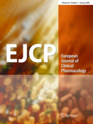 European Journal of Clinical Pharmacology - Image: European Journal of Clinical Pharmacology