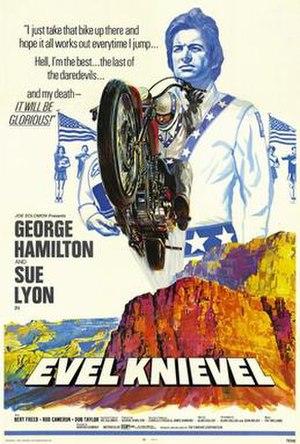 Evel Knievel (film) - Film poster by Joseph Smith