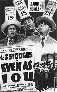 <i>Even as IOU</i> 1942 film by Del Lord