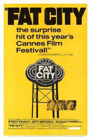 Fat City (film) - Theatrical release poster