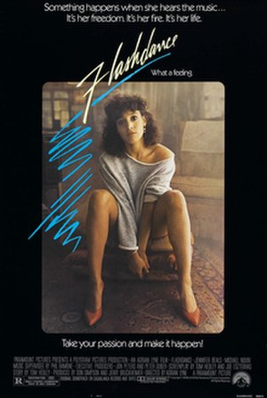 Flashdance - Theatrical release poster