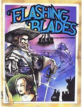 Flashing Blades - Image: Flashing Blades, role playing game