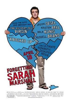 Forgetting Sarah Marshall - Theatrical release poster