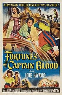 <i>Fortunes of Captain Blood</i> 1950 film by Gordon Douglas