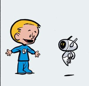 Franklin Richards (comics) - Image: Frichardsherbie