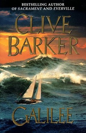 Galilee (novel) - Cover of the first edition, published by HarperCollins in the USA.