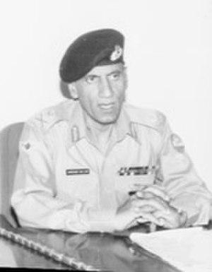 Jamshed Gulzar Kiani - Image: General Jamshed Gulzar Kayani