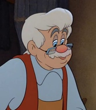 Mister Geppetto - Geppetto, in a calm manner.