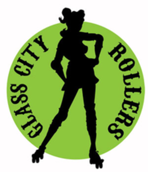 Glass City Rollers - Image: Glass City Rollers logo