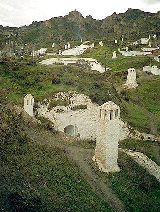 Guadix - Troglodyte cave dwellings