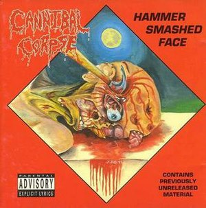 Hammer Smashed Face - Image: Hammer smashed face album coverart