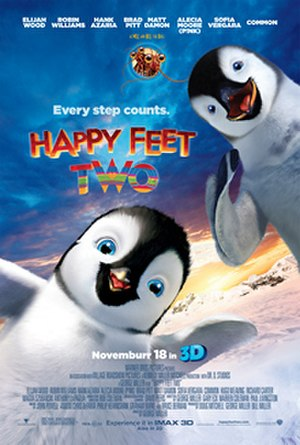 Happy Feet Two - Theatrical release poster