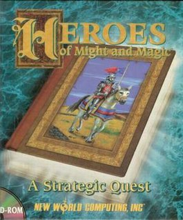 <i>Heroes of Might and Magic: A Strategic Quest</i> video game