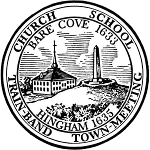 Official seal of Hingham, Massachusetts