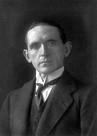 Ian Macpherson, 1st Baron Strathcarron - Macpherson in 1920