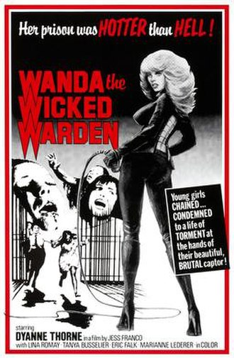 Ilsa, the Wicked Warden - Theatrical release poster