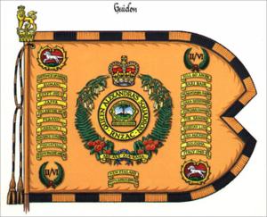 Queen Alexandra's Mounted Rifles - The QAMR Guidon
