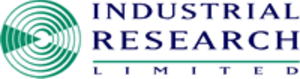Industrial Research Limited - Original logo used 1992–2007