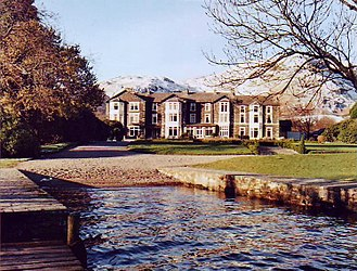The Lakes (TV series) - One of the principal filming locations for the series, the Inn on the Lake Hotel