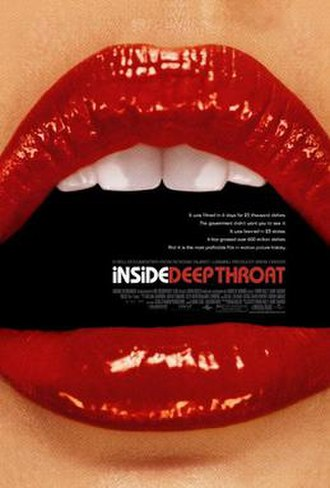 Inside Deep Throat - Theatrical release poster
