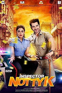 <i>Inspector Notty K</i> 2018 film directed by Ashok Pati