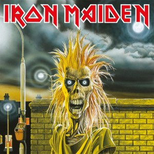 Iron Maiden (album) - Image: Iron Maiden (album) cover