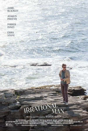 Irrational Man (film) - Theatrical release poster