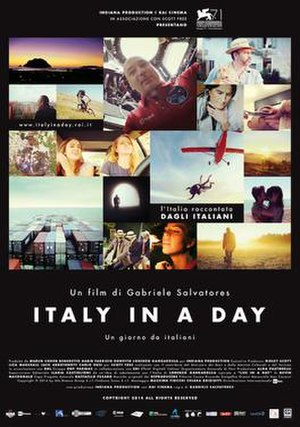 Italy in a Day - Image: Italy In A Day Movie Poster 500px
