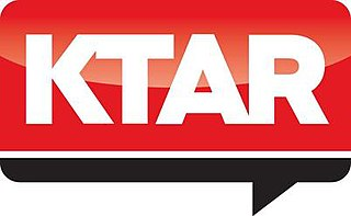 KTAR-FM news/talk radio station in Glendale, Arizona, United States