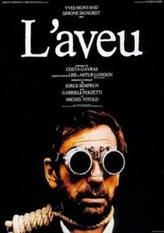 The Confession (1970 film) - Image: L'Aveu