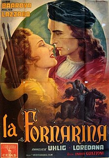 <i>La Fornarina</i> (film) 1944 film by Enrico Guazzoni