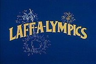 Laff-A-Lympics - Laff-A-Lympics title screen.