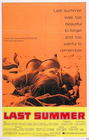 Last Summer - Theatrical Poster
