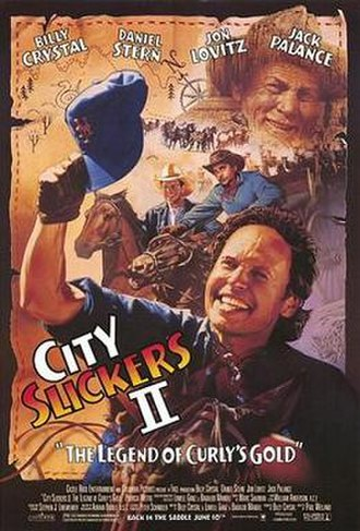 City Slickers II: The Legend of Curly's Gold - Theatrical release poster