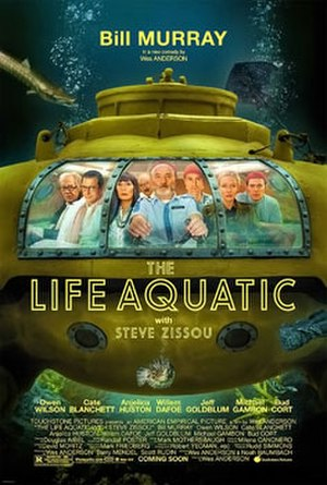 The Life Aquatic with Steve Zissou - Theatrical release poster