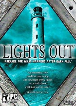 Dark Fall II: Lights Out - North American cover art of the original edition
