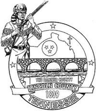 Lincoln County, Tennessee - Image: Lincoln County tn seal