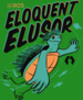 The logo for the ROS2 release Eloquent Elusor.