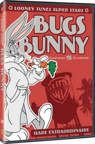 Looney Tunes Super Stars' Bugs Bunny: Hare Extraordinaire - DVD-cover