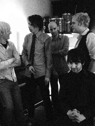 Luxembourg (band) - From left to right: Alex Potterill, David Barnett, Steve Brummell, David Shah, Rob Britton